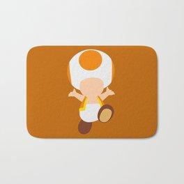 Orange Toad (Super Mario) Bath Mat