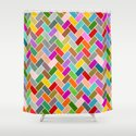 Colourful Tiled Mosaic Pattern by mailboxdisco