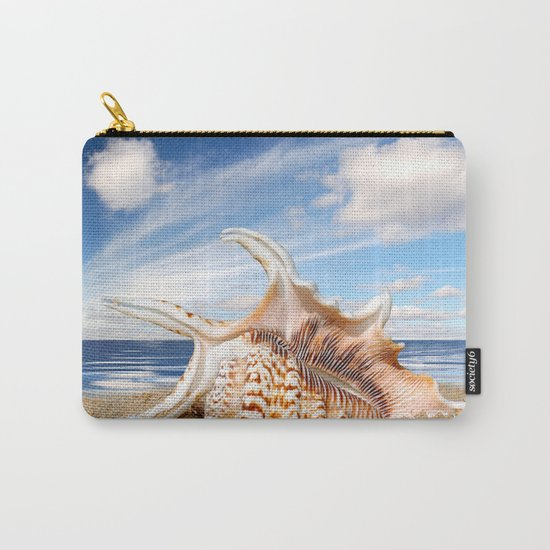 Sea Snail Carry-All Pouch