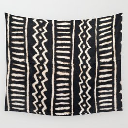 African Vintage Mali Mud Cloth Print Wall Tapestry