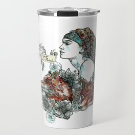 Red Fox. Travel Mug