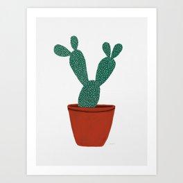 Cactus No. 1 Art Print