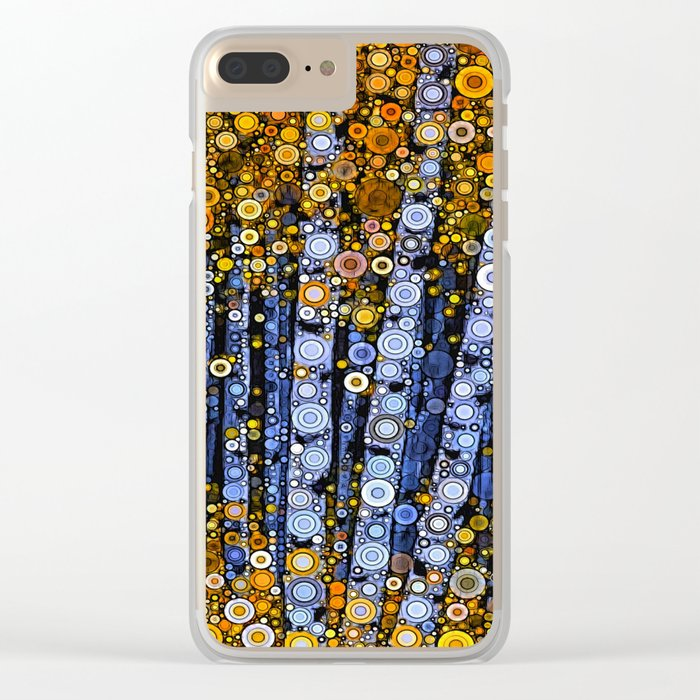 :: Birch Balustrade :: Clear iPhone Case