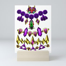 LOZ Design #4 - Purple Gems of Hyrule Mini Art Print