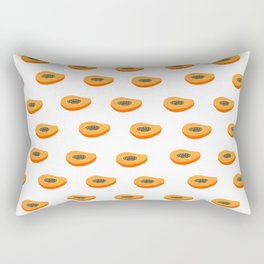 Papaya - Carmen line Rectangular Pillow