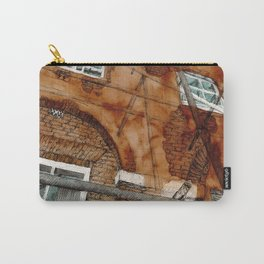 Scaffolding Sketch Carry-All Pouch