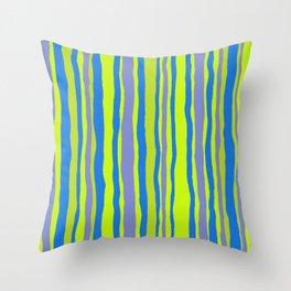 SUMMER RIVER Stripe Throw Pillow