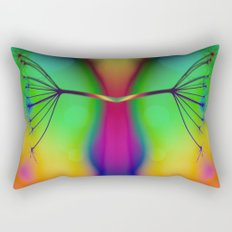 Butterfly... You My Friend, Are A Victim Of Disorganised Thinking... Rectangular Pillow