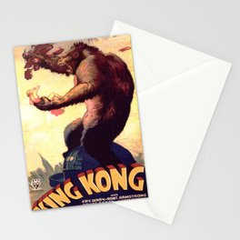 Vintage poster - King Kong Stationery Cards
