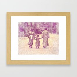 Hold My Hand Framed Art Print