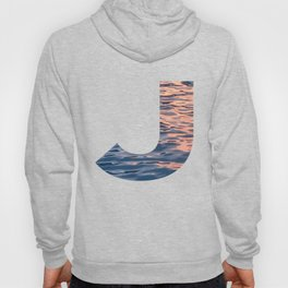 """J"" Initial Water Hoody"