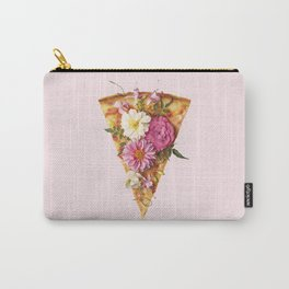 FLORAL PIZZA Carry-All Pouch