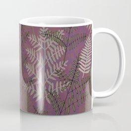 Ferns Purple Coffee Mug