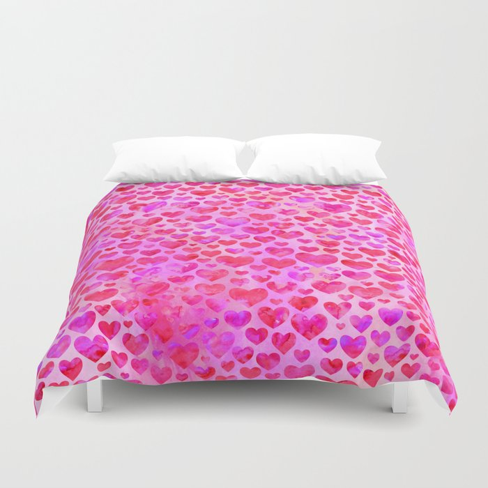 Heart Pattern 02 Duvet Cover
