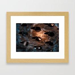 Cheese Grater Galaxy Framed Art Print