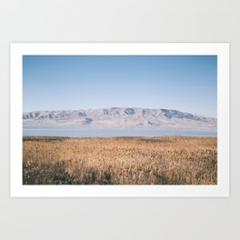 Utah Lake II Art Print