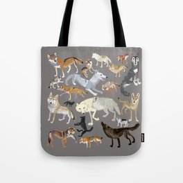 Wolves of the world 1 Tote Bag