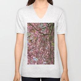 In Full Bloom Unisex V-Neck