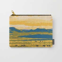 Grasslands National Park Poster Carry-All Pouch
