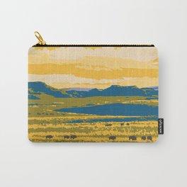 Grasslands National Park Poster Carry-All Pouch