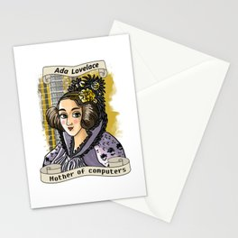 Ada Lovelace Stationery Cards