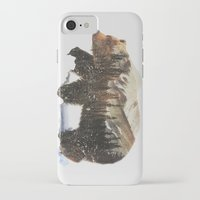 andreas preis iPhone & iPod Cases featuring Arctic Grizzly Bear by Andreas Lie