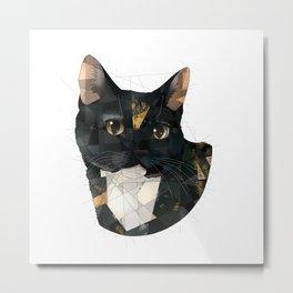 Ally Cat Metal Print