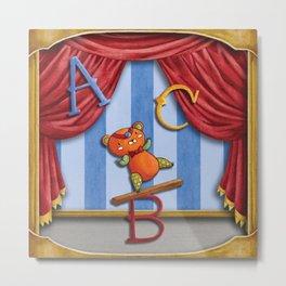 Acrobatic A B C's Metal Print