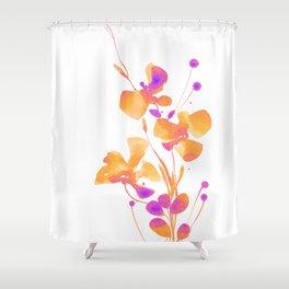 Organic Impressions 334zc by Kathy Morton Stanion Shower Curtain