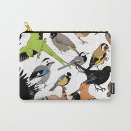 color birds Carry-All Pouch