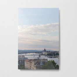 View over Budapest Metal Print