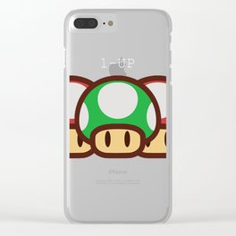 1-UP Be Yourself Clear iPhone Case