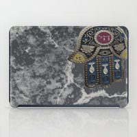 jewish iPad Cases featuring Jewish Hamsa by Debra Slonim Art & Design