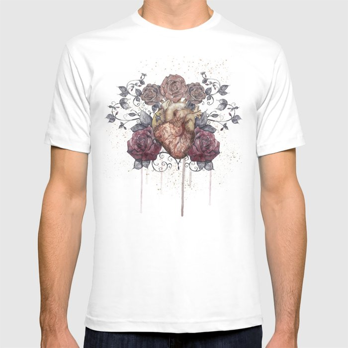 Flowers from my heart T-shirt