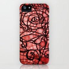 Scarred Rose Slim Case iPhone (5, 5s)