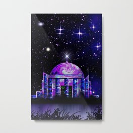 Star House. Metal Print