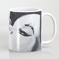 smoking Mugs featuring Smoking by Fallon Chase