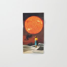 Your Heart Is The Sun Hand & Bath Towel