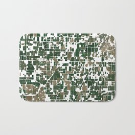 Suburban Neighborhood of California Bath Mat