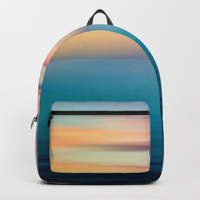 Abstract Seascape Backpack