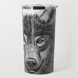 Wolf // #ScannedSeries Travel Mug