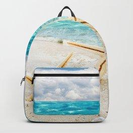 seashell and sea Backpack