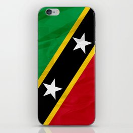 Saint Kitts and Nevis - North America Flags iPhone Skin