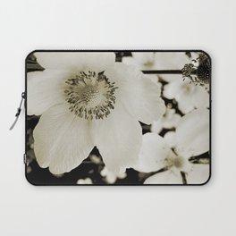 white anemone Laptop Sleeve
