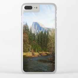 Half Dome Clear iPhone Case