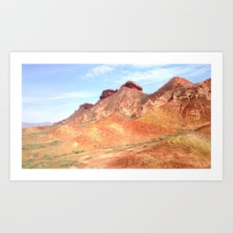 mineral mountain photography Art Print