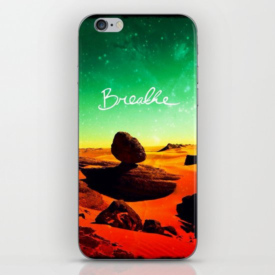 Breathe - for iphone iPhone & iPod Skin