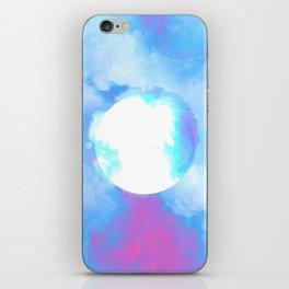 Misplaced Circle Water iPhone Skin