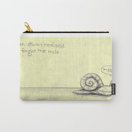 Snail Milk Carry-All Pouch