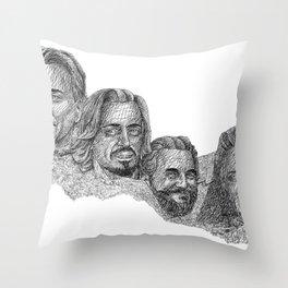 Mount Awesomore Throw Pillow